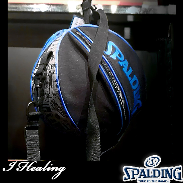 SPALDING ボールバッグ グラフィティ ブルー バスケットボール収納 GRAFFITI BLUE スポルディング49-001GB