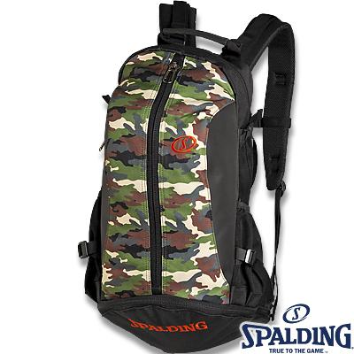 スポルディング ケイジャー ウッドランドカモ迷彩柄 バスケットボール収納バッグ SPALDING40-007WC01
