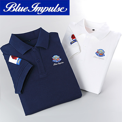 PX限定 航空自衛隊ブルーインパルス ポロシャツ 半袖