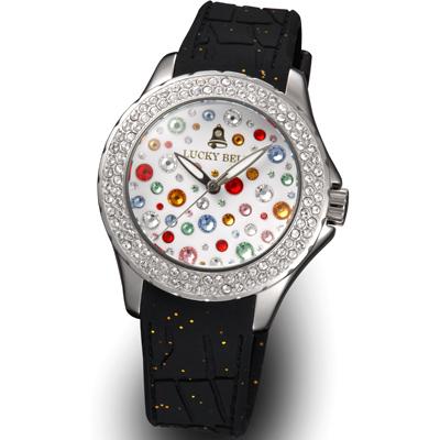 ラッキーベル スターリーヘブンズ イタリア腕時計 シルバー ホワイト