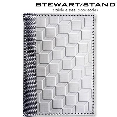 スチュワートスタンド ステンレス カードケース 3D柄 STEWART STAND DW3401-SVR
