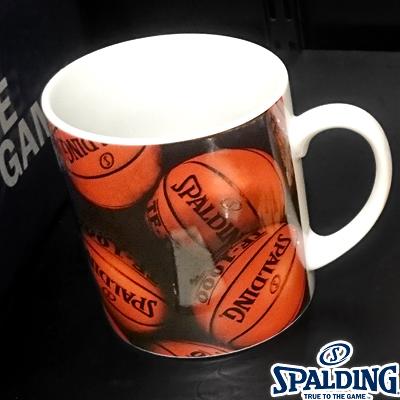 スポルディング バスケットボール マグカップ 容量330cc SPALDING14-002