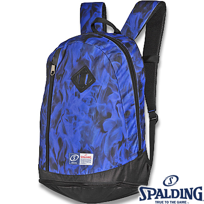 スポルディング ライズ フレーム ブルー バスケットボールバッグ SPALDING40-013BL