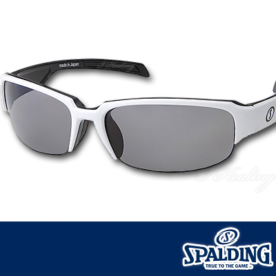スポルディング サングラス ポリカーボネート偏光レンズ ホワイトW SPALDING SPS17102W 日本製