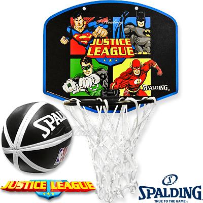 スポルディング ジャスティスリーグ バスケットボール ゴール マイクロミニ バックボードSPALDING5001JUSTICE
