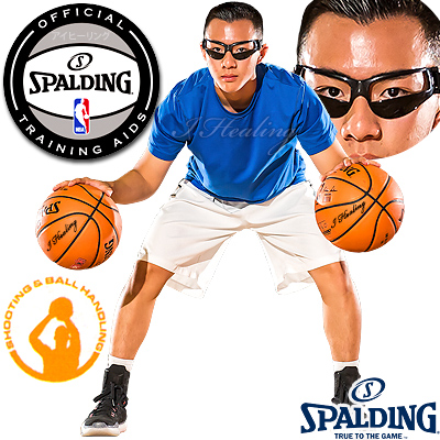 スポルディングNBA公認トレーニング ドリブルゴーグル バスケットボール練習 ボールハンドリング SPALDING8481CN