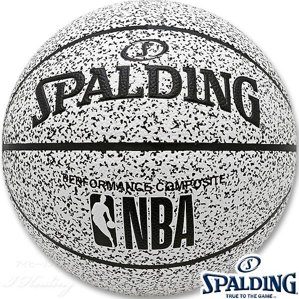 SPALDING NOISE バスケットボール7号 ノイズ 合成皮革 スポルディング76-343J