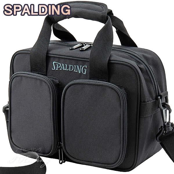 SPALDING レフリーバッグ ブラック 審判 バスケットボール用 スポルディング 42-003BK