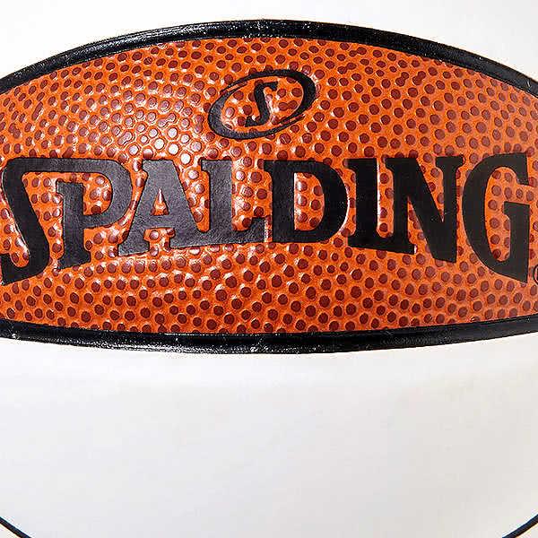 スポルディング バスケットボール 1号 シグネチャーシリーズ メッセージ書き用 ブラウン ホワイト 直径14cm バスケ 76-789J 合成皮革 SPALDING