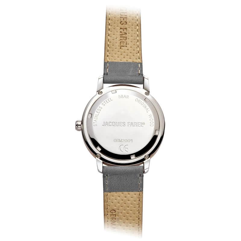 JACQUES FAREL ジャックスファレル シルバー ORM2001 多機能腕時計 日本正規販売店