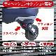 スポルディング 衝撃吸収スーツケース 大型 ファスナー ハイパー サスペンションキャスター91L ネイビー 鏡面 キャリーケース SPALDING SP-0702-71NAVY-S