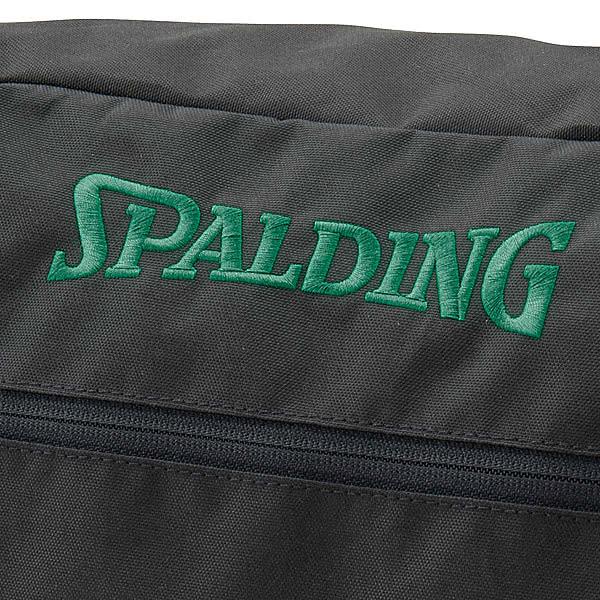 SPALDING バスケットボール シューズバッグ グリーンテープ スポルディング 42-002GT