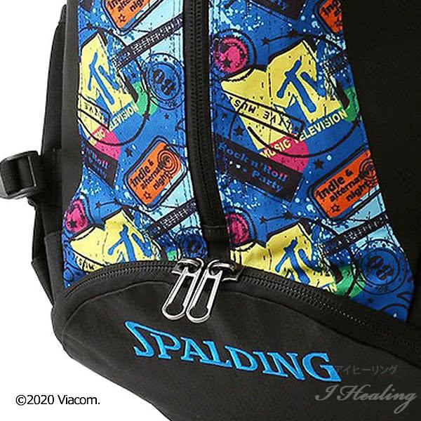 スポルディング バスケ バッグ ケイジャー MTVギター 40-007GU バスケットボール リュック バックパック 32L SPALDING CAGER