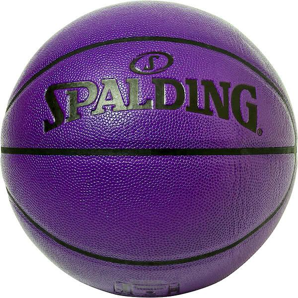 スポルディング バスケットボール 7号 イノセンス ウルトラバイオレット バスケ 77-072J 合成皮革 SPALDING 21AW2