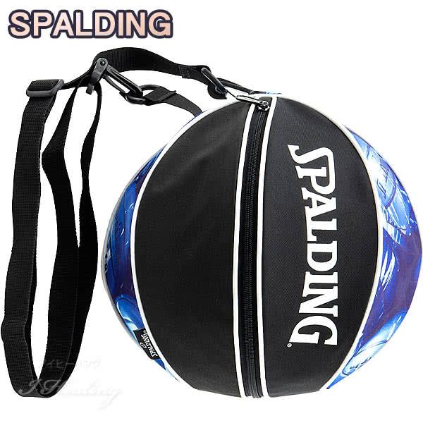 SPALDING バスケットボール ボールバッグ マーブルブルー MARBLE BLUE スポルディング 49-001MBL