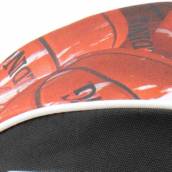 SPALDING バスケットボール ボールバッグ マーブルレッド MARBLE RED スポルディング 49-001MRD