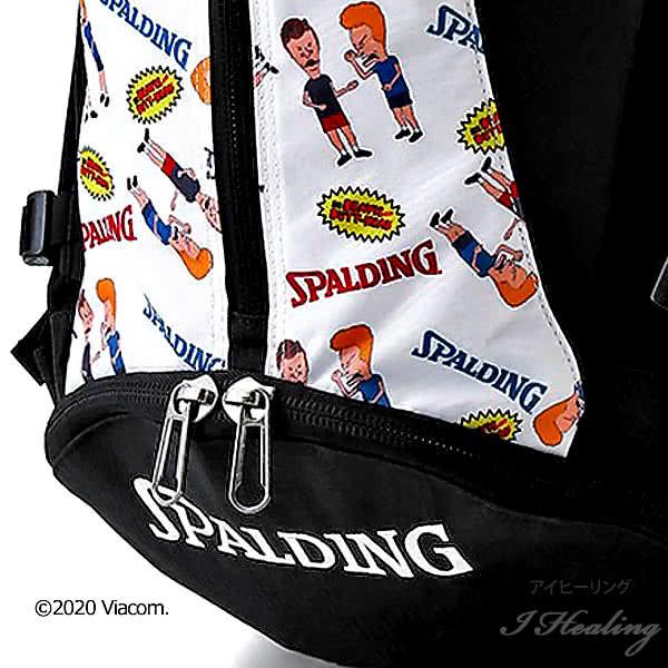 スポルディング バスケ バッグ ケイジャー ビーバス アンド バットヘッド 40-007BE バスケットボール リュック MTV バックパック 32L SPALDING CAGER