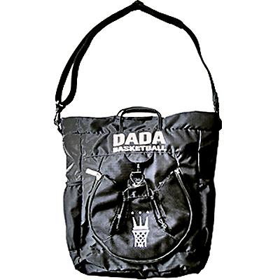 DADAバスケ 3WAYフープトート ブラックホワイト バスケットボール バッグ ダダ