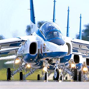 航空自衛隊ブルーインパルス クロノグラフ腕時計