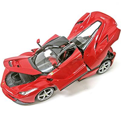 フェラーリ1/18ミニカー ラ フェラーリ ダイキャスト ブラーゴ