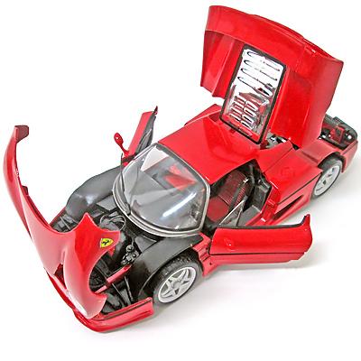 フェラーリ1/18ミニカー F50 ダイキャスト ブラーゴ