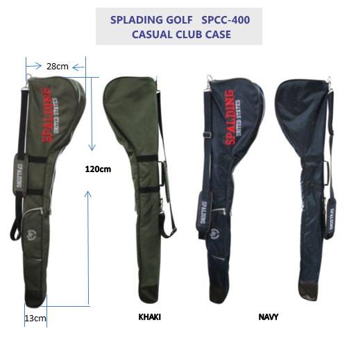 SPALDING GOLF カジュアルクラブケース SPCC-400