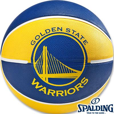 スポルディング バスケットボール7号ゴールデンステイト ウォリアーズ ラバー SPALDING83-304Z