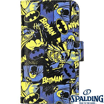 スポルディング スマートフォンケース手帳型 正義の味方バットマン BATMAN SPALDING11-002BM