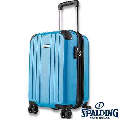 スポルディング ダブルホイールキャリー50L ブルー 拡張ファスナー 軽量キャリーケース SP-0704-55 SPALDING