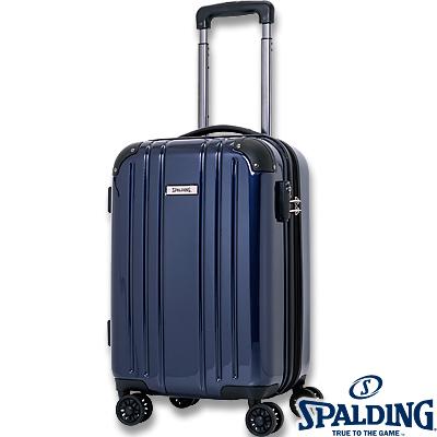 スポルディング ダブルホイールキャリー50L ネイビー 拡張ファスナー 軽量キャリーケース SP-0704-55 SPALDING