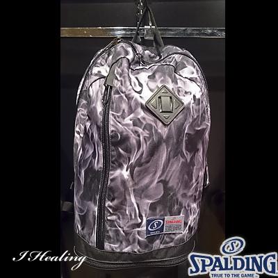 スポルディング ライズ フレーム グレー バスケットボールバッグ SPALDING40-013GR