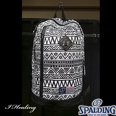 スポルディング ライズ トライバル柄 バスケットボールバッグ SPALDING40-013TB