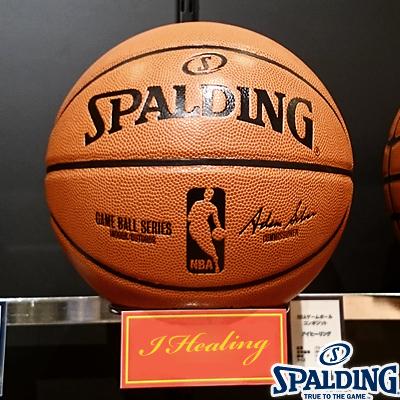 スポルディング バスケットボール7号NBAゲームボール コンポジット 公式試合球レプリカ 合成皮革 SPALDING74-570Z