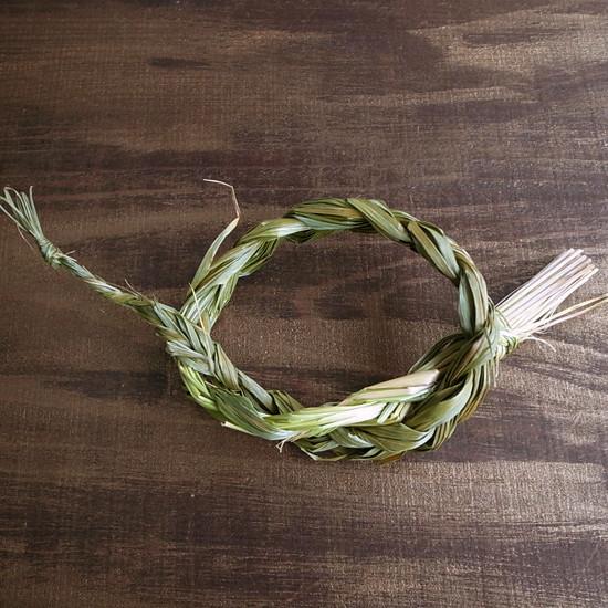 カナディアン スウィートグラス セージ Sweet Grass Canadian Braids