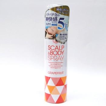 アロマプロ スカルプ&ボディスプレー100g グレープフルーツの香り 美健