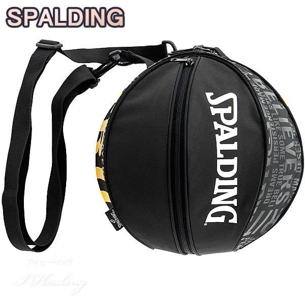 SPALDING バスケットボール ボールバッグ トゥルー TRUE スポルディング 49-001TR