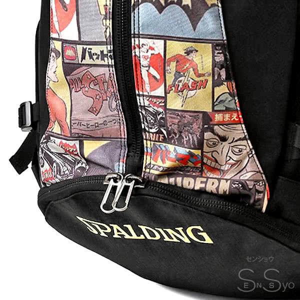 スポルディング バスケ バッグ ケイジャー ヴィンテージ バットマン 40-007VB バスケットボール リュック バックパック 32L SPALDING CAGER