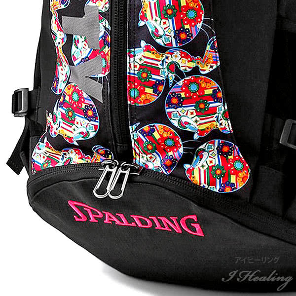 スポルディング バスケ バッグ ケイジャー トゥイーティーフラワー 花柄 40-007TF バスケットボール リュック バックパック 32L SPALDING CAGER