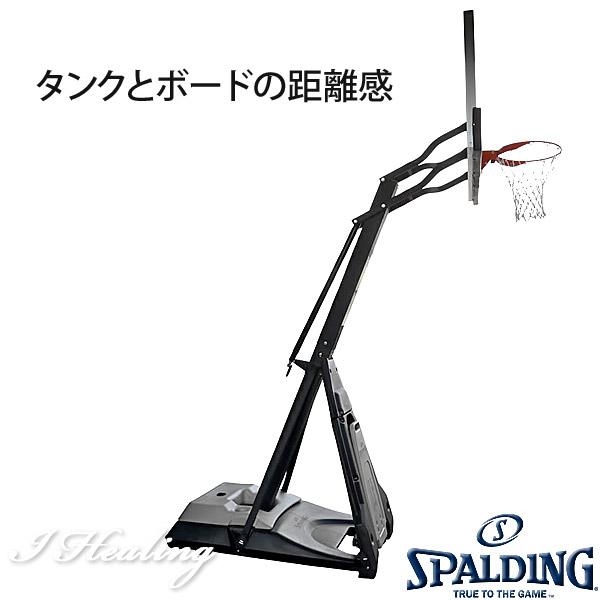 NBA公認バスケットゴール バックボード スポルディング ザ ビースト 強化ガラス THE BEAST 屋外用 バスケ練習 お客さま組立 SPALDING E74560JP