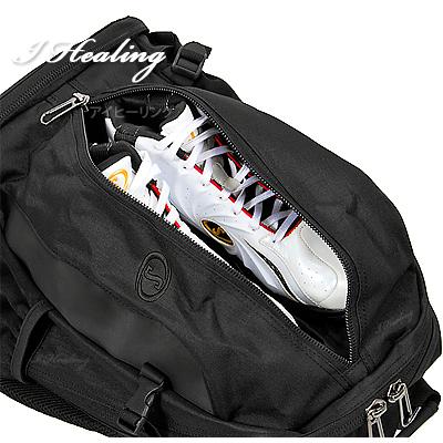 バスケットボール収納バッグ ケイジャー ブラックブラック スポルディング SPALDING40-007BK