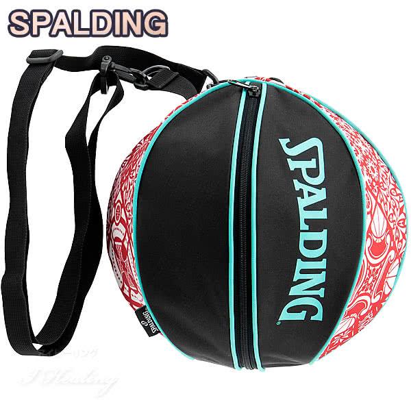 SPALDING バスケットボール ボールバッグ スカンジナビアンレッド SCANDINAVIAN RED スポルディング 49-001SRD