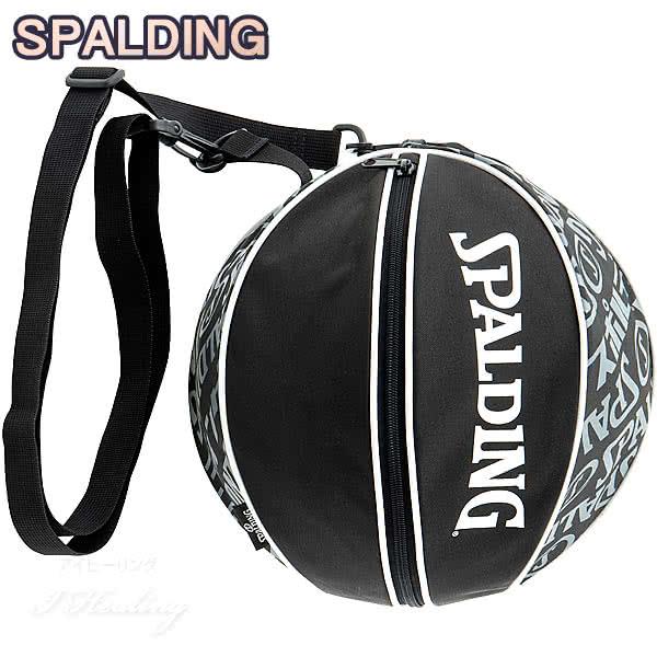 SPALDING バスケットボール ボールバッグ タイポグラフィ TYPOGRAPHY スポルディング 49-001TG