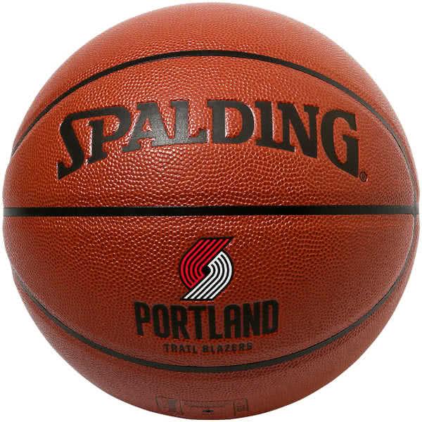 スポルディング バスケットボール 7号 ダミアンリラード コンポジット ポートランド トレイルブレイザーズ ブラウン バスケ 76-110Z 合成皮革 SPALDING