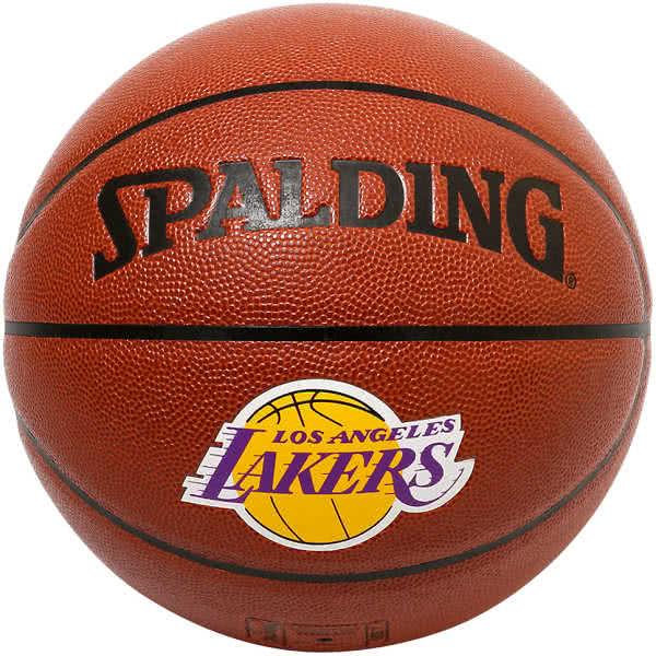 スポルディング バスケットボール 7号 レブロン ジェームズ コンポジット ロサンゼルス レイカーズ ブラウン バスケ 76-455Z 合成皮革 SPALDING