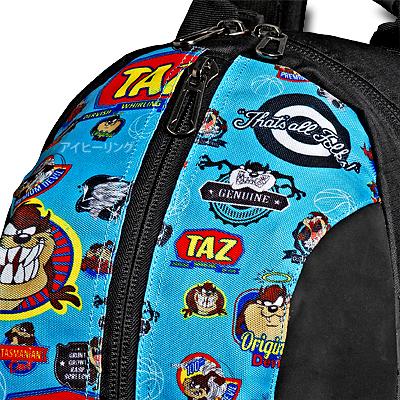 スポルディング ケイジャー タズ ルーニーテューンズ ブルー バスケットボール収納バッグ SPALDING40-007TAZ