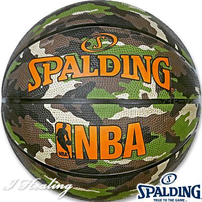 SPALDING ミニバス バスケットボール5号 迷彩ウッドランドカモ 小学校 子供用 ラバー スポルディング83-798J