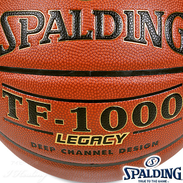 SPALDING JBA公認バスケットボール6号 TF-1000レガシー ブラウン クラリーノ人口皮革 合皮 屋内用 試合球 スポルディング76-124J