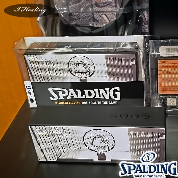 SPALDING Bluetoothスピーカー TRUEBELIEVERS バスケットボール グッズ スポルディング11-003TB