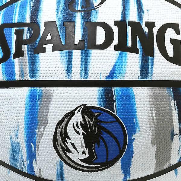 スポルディング バスケットボール 7号 ダラス マーベリックス バスケ 84-202J ゴム 外用ラバー SPALDING