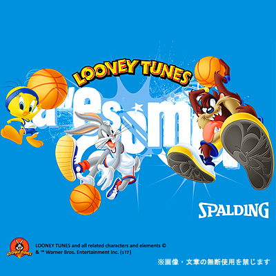 スポルディング ケイジャー バッグスバニー ブラックレッド バスケットボール収納バッグ SPALDING40-007BB